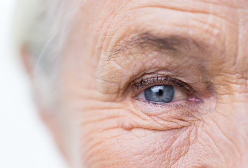 Age,,Vision,And,Old,People,Concept,-,Close,Up,Of